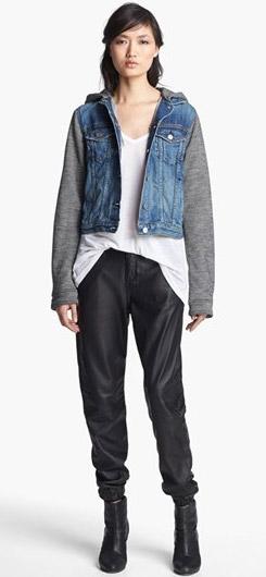 rag & bone JEAN Jacket Leather Pants