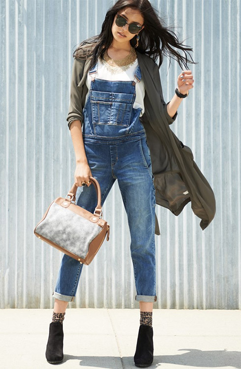 Maternity Dungarees: One Denim Piece That Is Going To Refresh Your ...