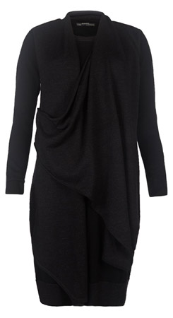 Drina Sweater Dress - Black