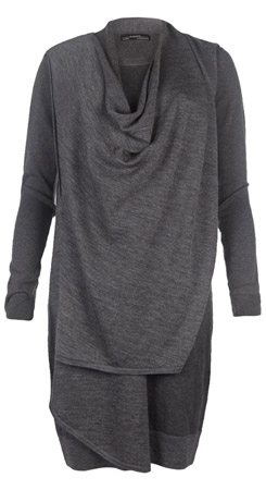 Drina Sweater Dress - Grey
