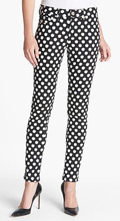 Kate Spade New York Broome Street Print Slim Stretch Jeans