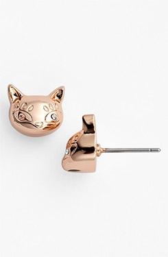 MARC BY MARC JACOBS Dynamite Rue Cat Stud Earrings