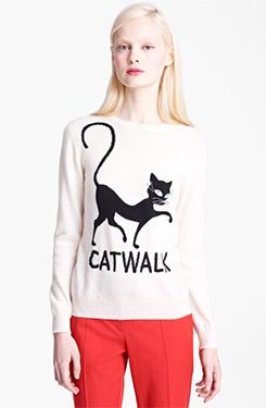 Moschino Cheap & Chic Catwalk Cashmere Sweater