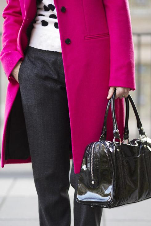 Pink Coat - Bag
