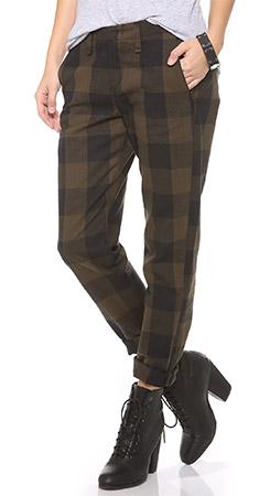 Rag & Bone/JEAN Plaid Portobello Pants