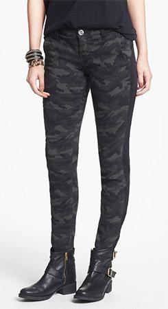 STS Blue Tuxedo Stripe Camo Print Pants