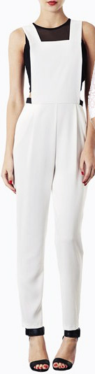 Topshop Pinafore Jumpsuit