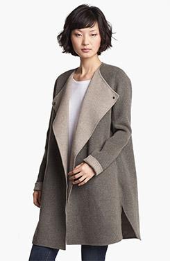 Vince Wool Blend Coat
