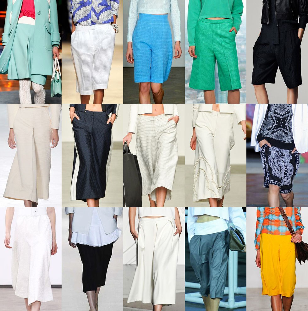 Culottes Spring 2014