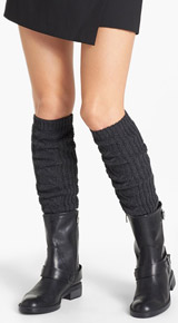 DKNY Cable Knit Boot Toppers