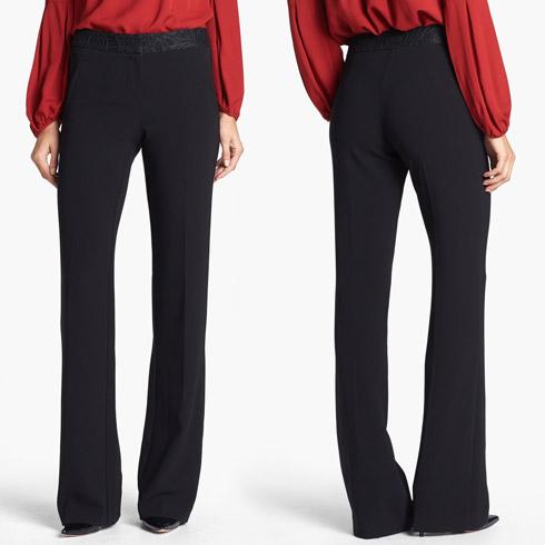 Trina Turk Geraldine Lace Waist Trousers