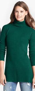 Caslon Cashmere Turtleneck Sweater