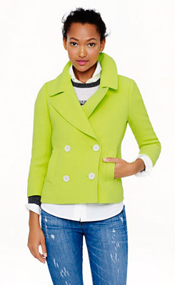 J. Crew Collection Peacoat
