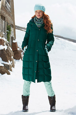 Lands&39 End Puffer Coats Are Fab - YLF