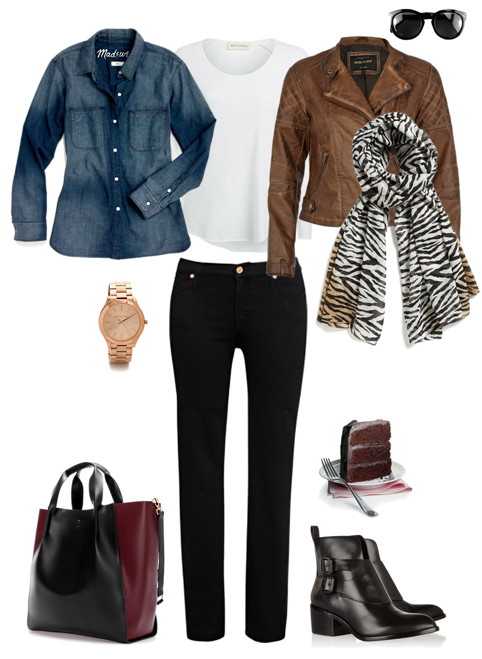 Thrown Together Casual Layers