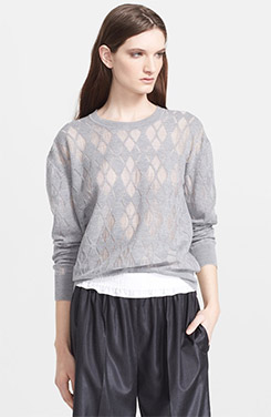 Alexander Wang Argyle Sweater