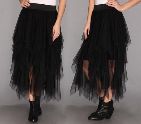 Free People Solid Tutu Skirt