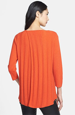 Nordstrom Collection Cashmere Swing Pullover