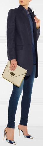STELLA MCCARTNEY Bryce-Wool and Cashmere Blend Coat