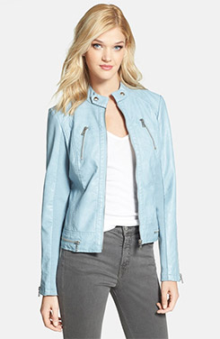 Sam Edelman Faux Leather Moto Jacket