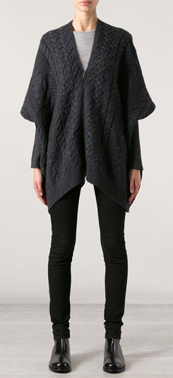 Vince Poncho Style Sweater