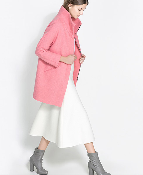 Zara Bouclé Jacket