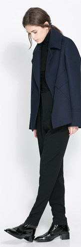 Zara Studio Jacket with Pockets