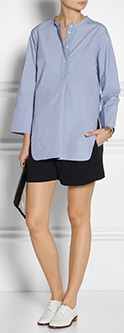 JIL SANDER Raissa cotton-poplin tunic