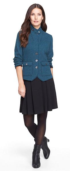 Eileen Fisher Pleated Skirt