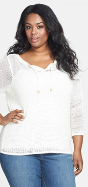 Lucky Brand Millbrae Bell Sleeve Sweater