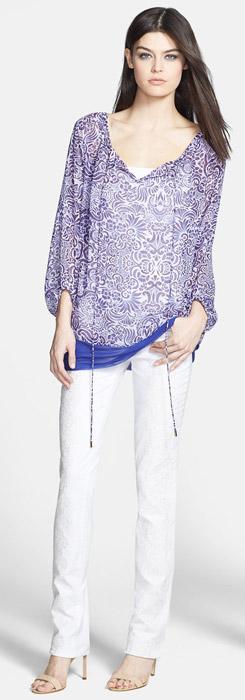Rachel Roy Top & Skinny Jeans