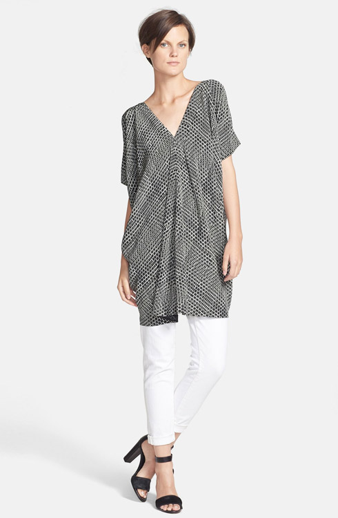 Vince Tunic Dress & Skinny Jeans