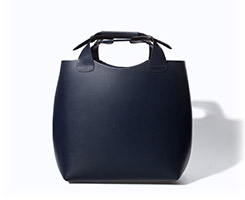 Zara Leather Shopper with Laminated Interior