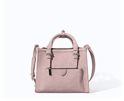 Zara Mini City Bag with Zip Details