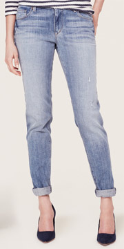 Loft Relaxed Skinny Jeans in Supreme Blue Wash