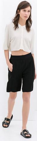 Zara Studio Bermuda Shorts