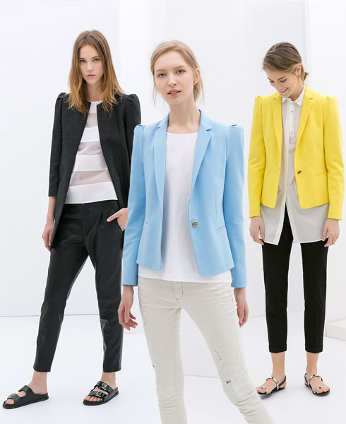 Fashion Trend - Puff Sleeved Jackets are Back