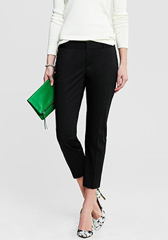Banana Republic Hampton Fit Sateen Crop