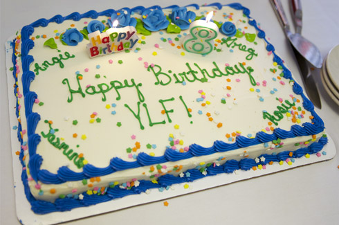 Happy Eighth Birthday YLF YLF