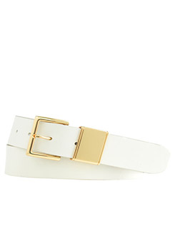 J.Crew Golden Trim Leather Belt