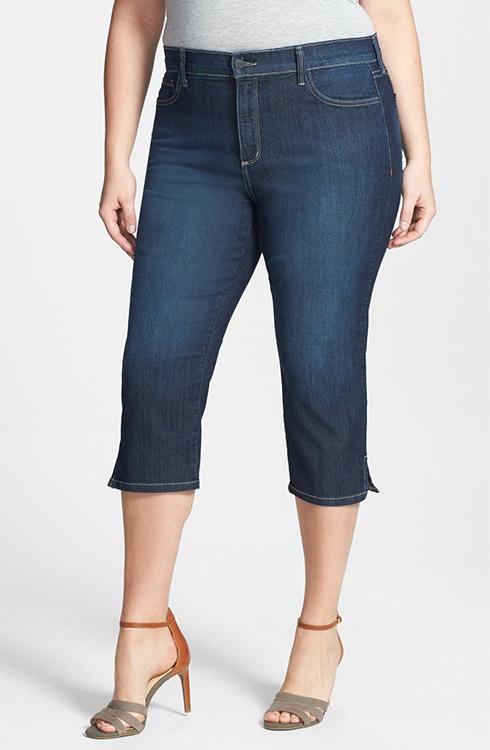 NYDJ Hayden Stretch Cotton Crop Pants