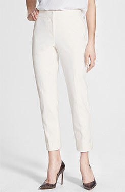 Nordstrom Collection Stretch Ankle Pants