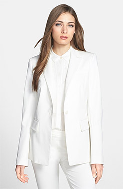 Rachel Roy Fitted One Button Blazer