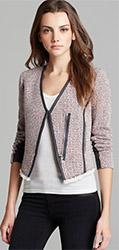 Rebecca Taylor Jacket Cutaway Tweed