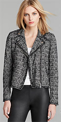 Rebecca Taylor Jacket Exclusive Tweed Moto