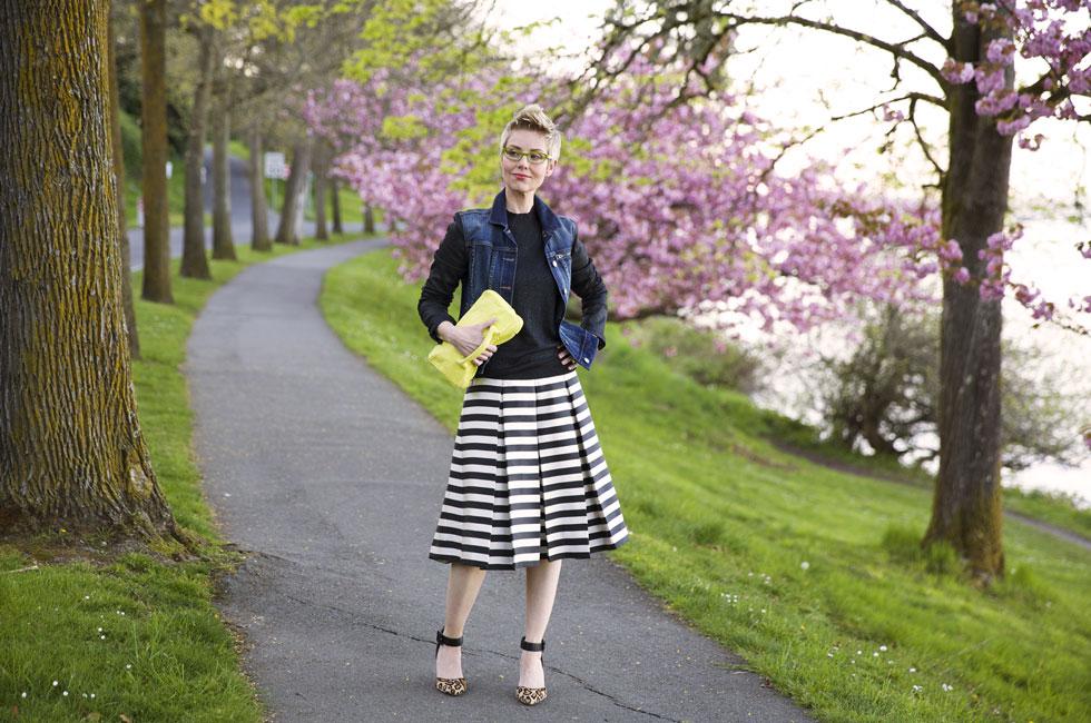 Skirt, Jacket and Bag