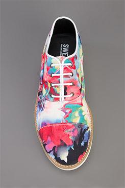 Swear Charlotte Floral Shoe