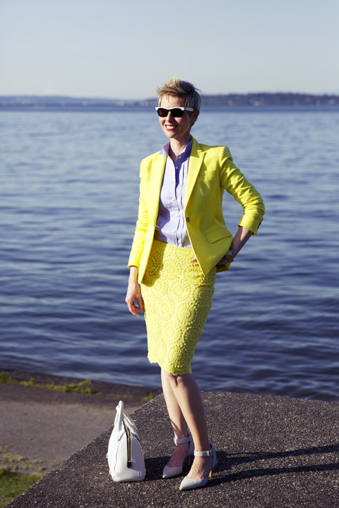 Summer Yellow - Blazer