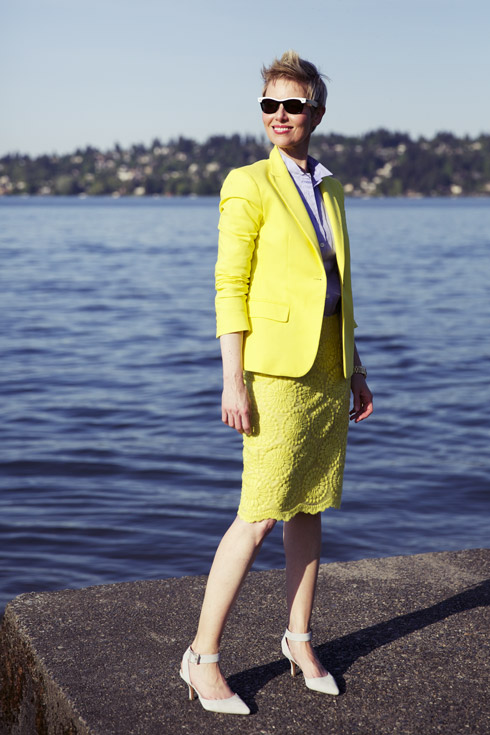 Summer Yellow - Blazer Side
