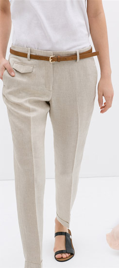 Zara Linen Trousers